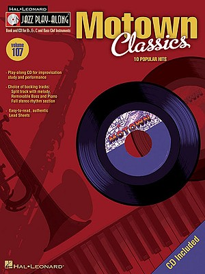 Image for Motown Classics: Jazz Play-Along Volume 107 (Hal Leonard Jazz Play-Along)
