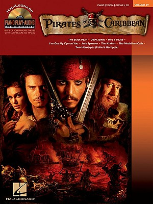 Image for Pirates of the Carribean - Piano Play - Along Volume 69 (Cd/Pkg)