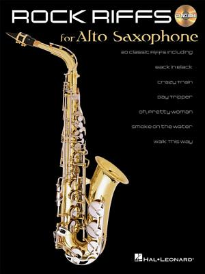 Image for Rock Riffs: for Alto Sax