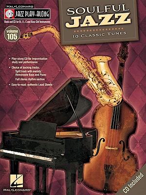 Image for Soulful Jazz: Jazz Play-Along Volume 105