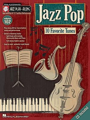 Image for Jazz Pop - Jazz Play-Along Volume 102 (CD/Pkg) (Hal Leonard Jazz Play-Along)