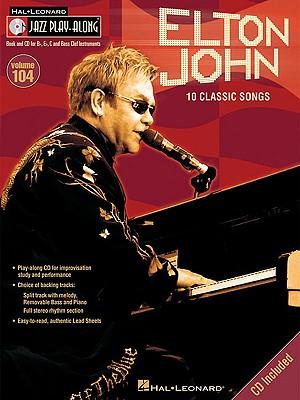 Image for Elton John: Jazz Play-Along Volume 104