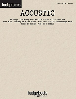 Image for Acoustic: Budget Books