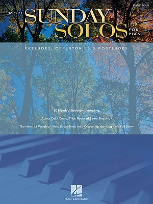 Image for More Sunday Solos for Piano: Preludes, Offertories and Postludes
