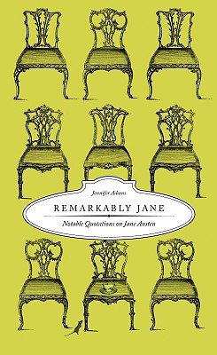 Image for Remarkably Jane: Notable Quotations on Jane Austen