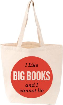 I Like Big Books Tote (LoveLit)