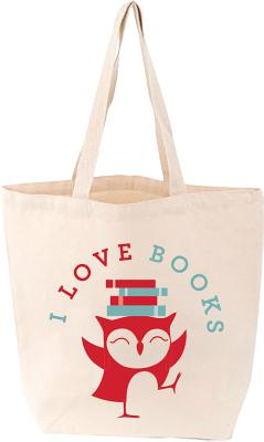 Image for I love Books Tote (LoveLit)