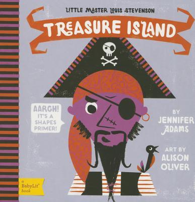 Image for Treasure Island: A BabyLit(R) Shapes Primer (BabyLit Books)