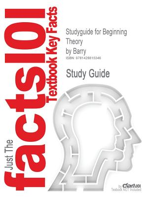 Image for Cram101 Textbook Outlines Studyguide for Beginning Theory