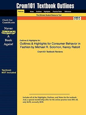 Image for Outlines & Highlights for Consumer Behavior in Fashion by Michael R. Solomon, Nancy Rabolt