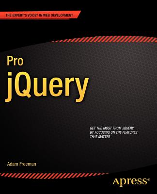 Image for Pro jQuery (Expert's Voice in Web Development)