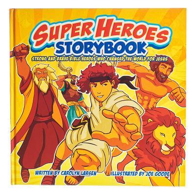 Image for KDS478 Super Heroes Storybook