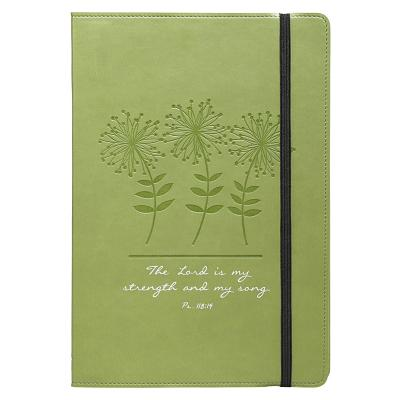 Image for Green Strength and Song Flexcover Journal / Notebook - Psalm 118:14