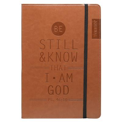 Tan Be Still & Know Flexcover Journal / Notebook - Psalm 46:10, Christian Art Gifts (Manufacturer)
