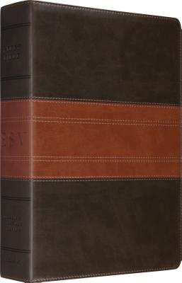 Image for ESV Study Bible (TruTone, Forest/Tan, Trail Design)