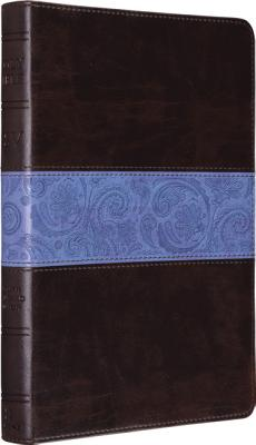 Image for ESV Thinline Bible (TruTone, Chocolate/Blue, Paisley Band)