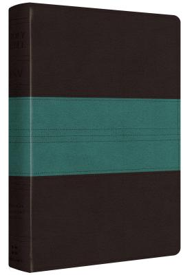 """Image for """"''ESV Personal Reference Bible (TruTone, Dark BrownTeal, Trail Design)''"""""""