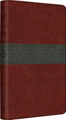 Image for ESV Large Print Thinline Reference Bible (TruTone, Walnut/Slate, Crossband Design)