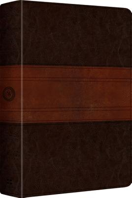 ESV MacArthur Study Bible, Personal Size (TruTone, Chocolate/Walnut, Trail Design), ESV Bibles by Crossway