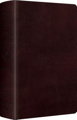 "Image for ""''ESV Large Print Personal Size Bible (TruTone, Mahogany)''"""