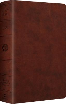 ESV Large Print Personal Size Bible (TruTone, Chestnut), ESV Bibles by Crossway