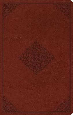 "Image for ""ESV Large Print Value Thinline Bible (TruTone, Tan, Ornament Design)"""