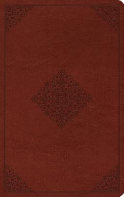 "Image for ""''ESV Large Print Value Thinline Bible (TruTone, Tan, Ornament Design)''"""