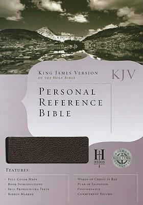 Image for KJV Personal Reference Bible, Burgundy Bonded Leather