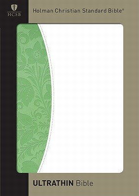 HCSB UltraThin Bible (Green/White Duotone)