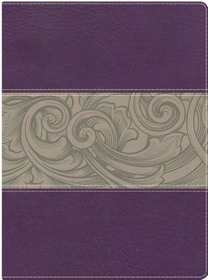 Image for Holman Study Bible: NKJV Edition, Eggplant/Tan LeatherTouch