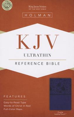 Image for KJV Ultrathin Reference Bible Purple