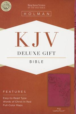 Image for KJV Deluxe Gift Bible, Pink LeatherTouch