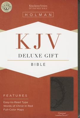 Image for KJV Deluxe Gift Bible, Charcoal LeatherTouch