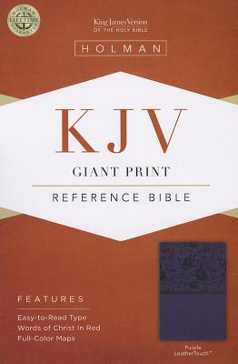 Image for KJV Giant Print Reference Bible Purple