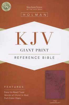 Image for KJV Giant Print Reference Bible Pink