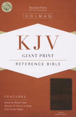 Image for KJV Giant Print Reference Bible Brown