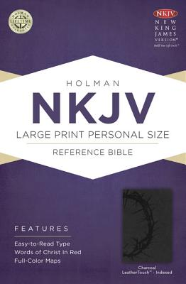 "Image for ""''NKJV Large Print Personal Size Reference Bible Charcoal, Indexed''"""
