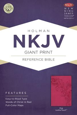 Image for NKJV Giant Print Reference Bible Pink