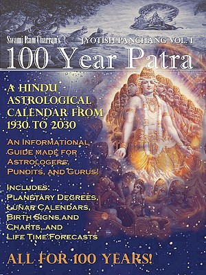 Image for 100 YEAR PATRA (PANCHANG) VOL 1 : VEDIC
