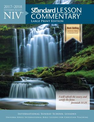 Image for NIV? Standard Lesson Commentary? Large Print Edition 2017-2018