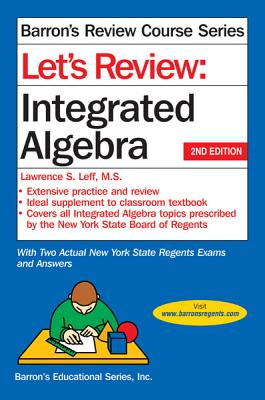 Image for Let's Review Integrated Algebra (Let's Review Series)
