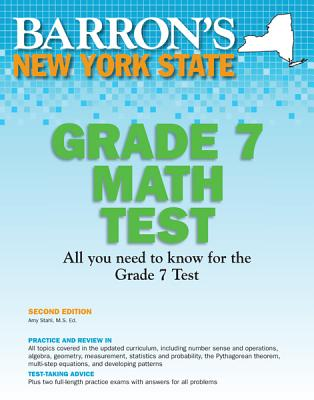 Image for New York State Math Grade 7 Test, 2nd Edition (Barron's New York State Grade 7 Math Test)