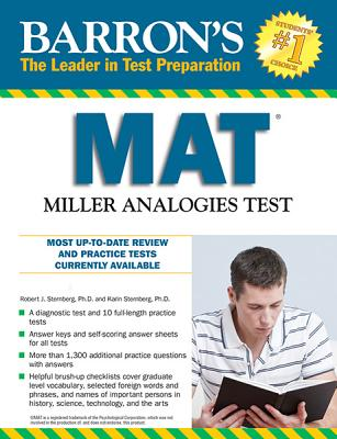 Image for Barron's MAT, 11th Edition: Miller Analogies Test