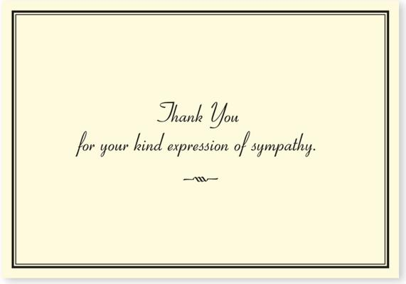 Sympathy Thank You Notes (Stationery, Note Cards), Peter Pauper Press