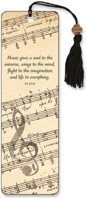 Image for Music Beaded Bookmark