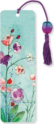 Image for Fuchsia Blooms Beaded Bookmark