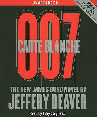 Image for Carte Blanche: The New James Bond Novel