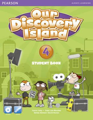 Our Discovery Island 4 Students' Book with CD-ROM Pack (American English), Jolly, Aaron,  Morales, Jose Luis