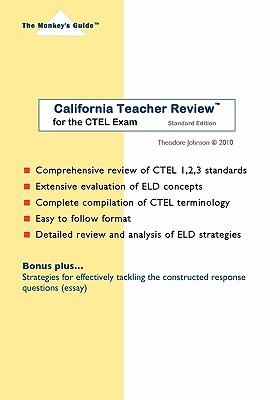 Image for CALIFORNIA TEACHER REVIEW FOR THE CTEL EXAM