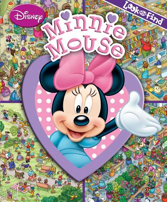 Image for Disney Minnie Mouse - Look and Find Activity Book - PI Kids